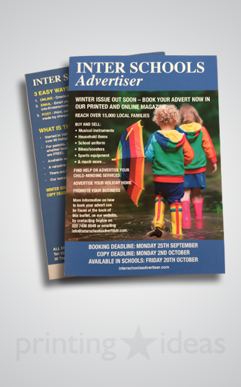 ISA Winter Booking Leaflet