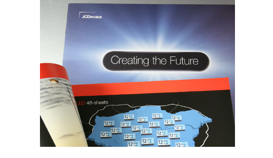 JC Decaux Creating the Future brochures