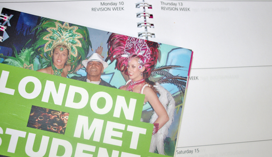London Met Students' Union Guide and Diary 09/10