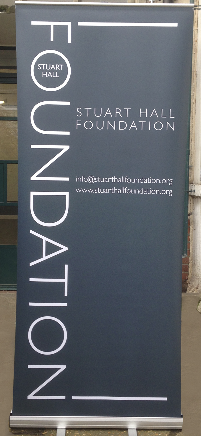 We printed these for the Stuart Hall Foundation