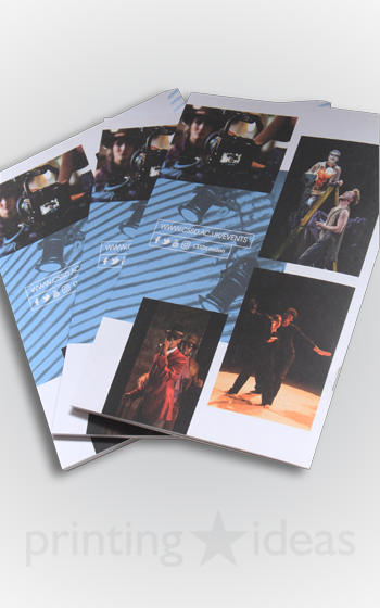 Event Brochure for Royal Central School of Speech and Drama