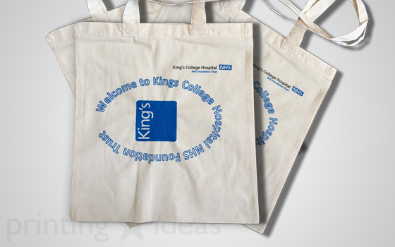 Kings Collage Hospital carry bag.
