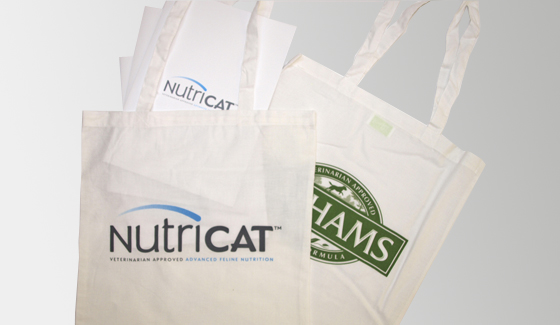 Printed bags for Lathams & Nutricat for SALTpr