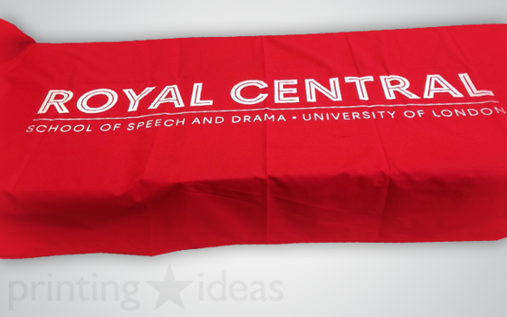 RCSSD Tablecloth printed and delivered by us.