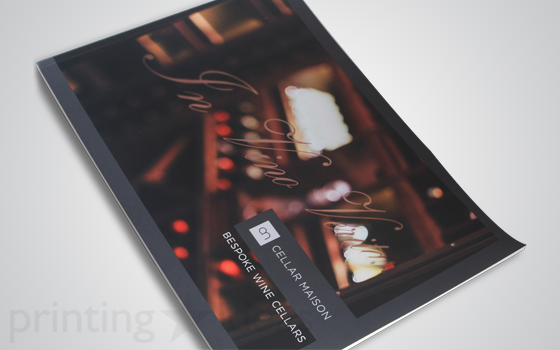 Booklet for Cellar Maison